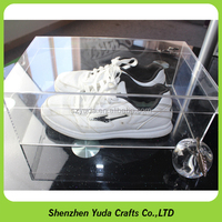 custom display nike shoe box factory made shoe storage case acrylic clear package box