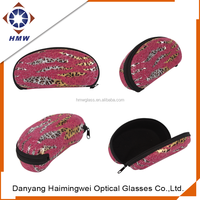 Custom Sunglasses Case for Glasses, Sports Eyeglasses & Fits Standard Size Eyewear, Lightweight, Zipper Closure