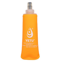 factory price TPU,PEVA,EVA material soft water bottle bpa free for travelling