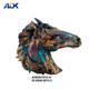 Vivid 3D Home Decoration Horse Statue Animal Head Wall Decoration