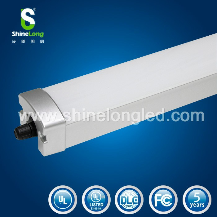 waterproof IP65 LED Triproof lamp 5ft 1500mm 60w Led batten fluorescent/Led grid light