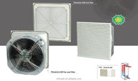 China 2015 new condition box filter fan, filter pad fan