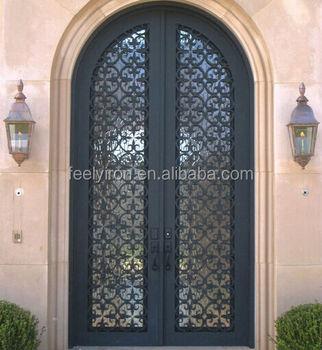 Elegant front main entrance double doors design fd 348 for Elegant main door designs