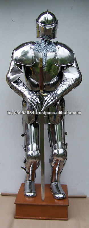 Medieval armor suit knight armour suit