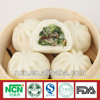 chinese frozen food steamed stuffed mushroom and vegetable
