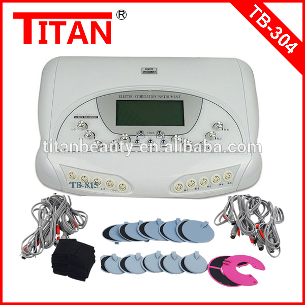 TB-304 Titan Beauty!!! Microcomputer System Electro Stimulation Equipment / Home Use EMS Health Products Guangzhou