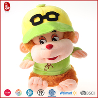 China manufacture colorful plush monkey toy names for kids