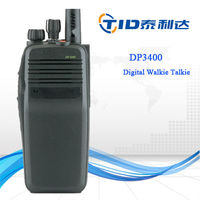 DP3401 handheld vhf uhf digital dmr professional gps dual range two way radio