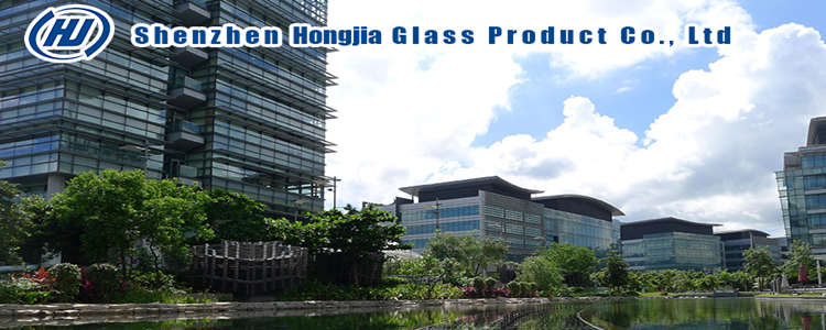 Customized size 4-19mm thickness high quality  curved toughened glass