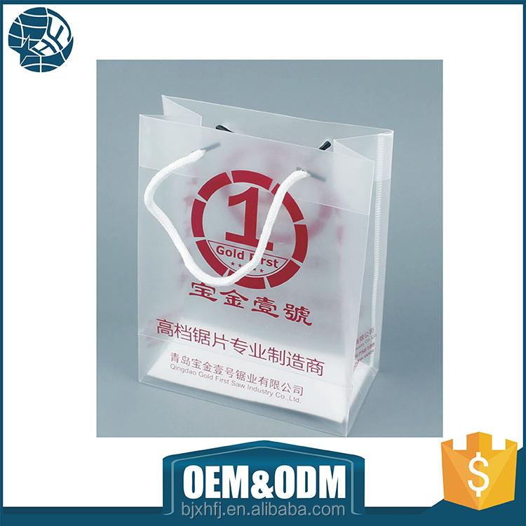 large clear pvc plastic tote bags made in china