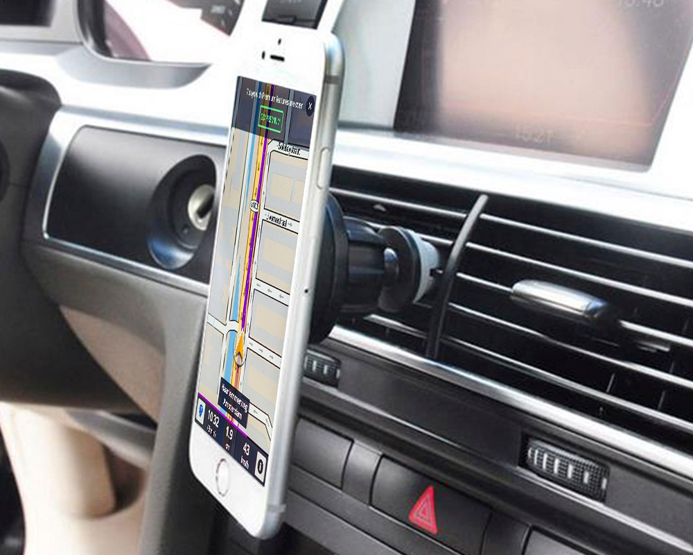 Alibaba hot sale Car Accessories 360 degree rotation magnet phone holder for car air vent