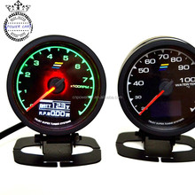 Universal Gredd& 62mm Auto Turbo Boost Gauge With LED Light
