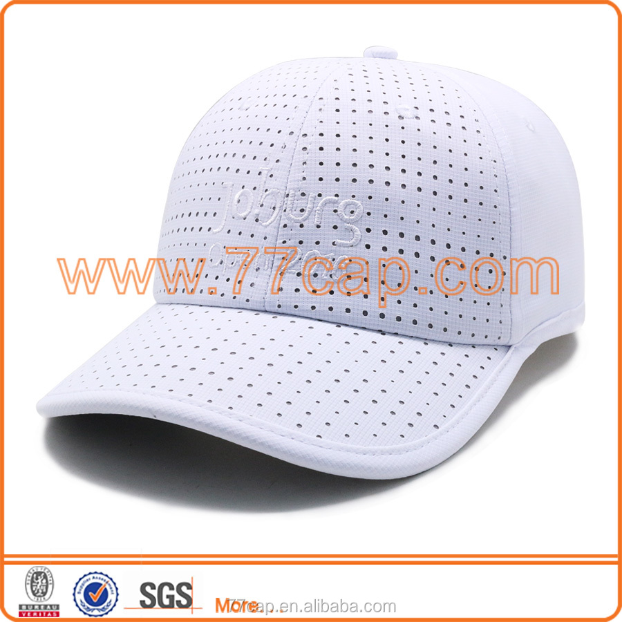 promotion with your own design quality quick dry baseball cap