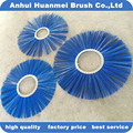Street sweeper brushes rotary brush wafers