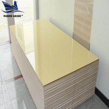 high gloss 18mm UV coated MDF board