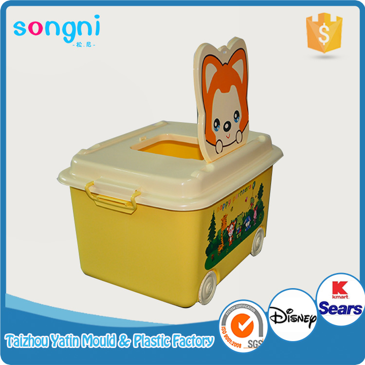 Beauty used closed household plastic storage box for sale