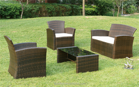 Cheap Home Garden Rattan Outdoor Sectional
