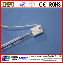 quartz halogen infrared heating lamp