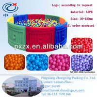 multi-coloured Plastic ball pit play balls