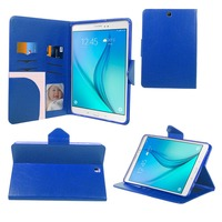 Alibaba supplier wholesale high quality flip PU leather cover fashion tablet case for Samsung Galaxy Tab A 9.7''