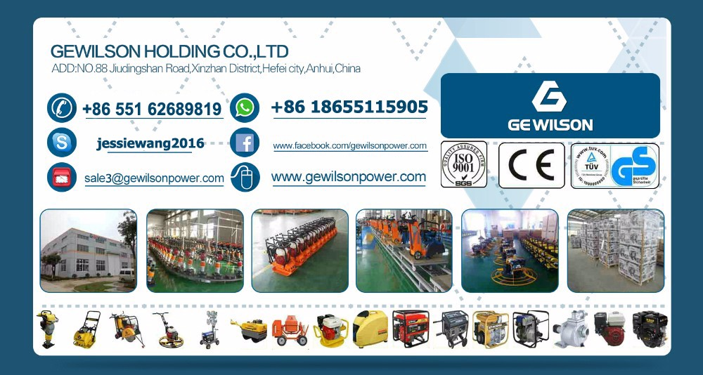 New China factory design diesel engine tamping rammer for road compaction