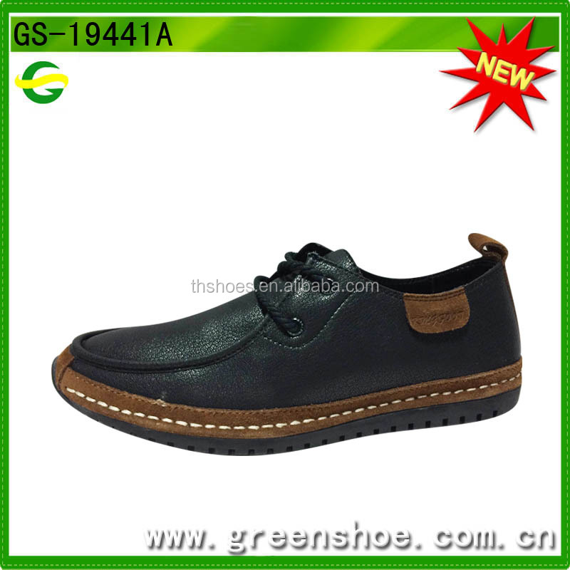 High quality leather men brand shoes