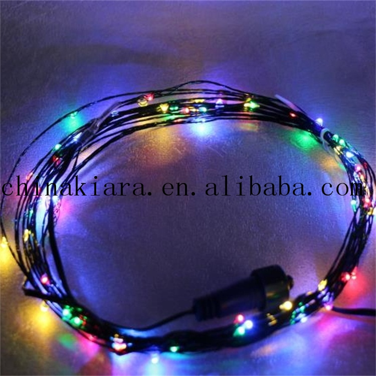 Top Sale Super Bright 25Ft 50Ft Multicolor Led End Connector Led Copper Wire String Lights