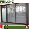 Smart blind shutter & louver aluminum double glazing door & window passed AS2047