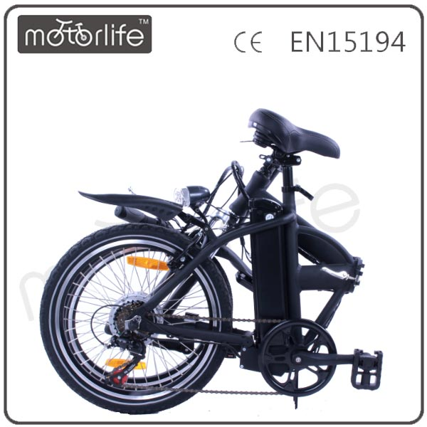 MOTORLIFE factory direct supply mini folding electric bike with low price