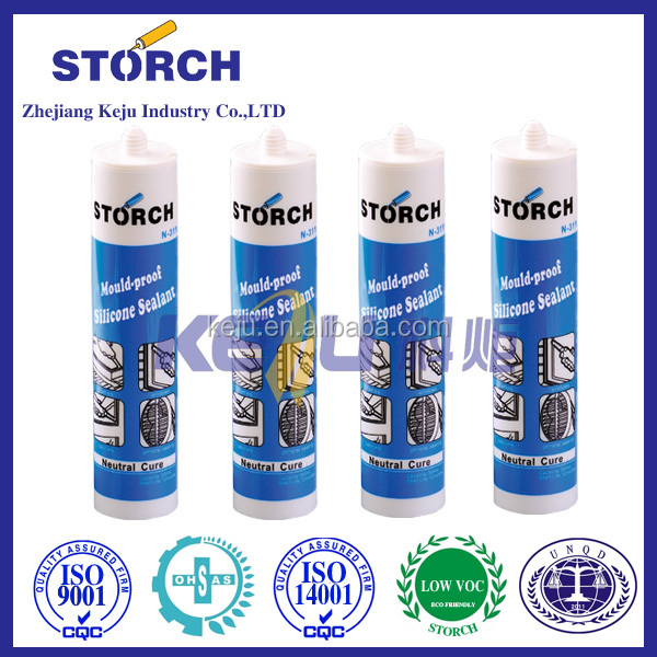 Fire-proof silicone sealant, good adhesion to fireproof silicone sealant