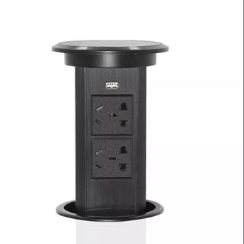 electrical pop up sockets with USB chargers socket outlet