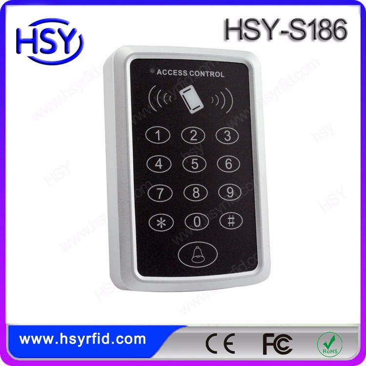 Low Costs RFID proximity door card access system stand alone reader with keypad