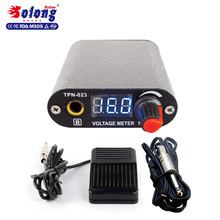 Solong tattoo ac dc adjustable voltage tattoo machine power supply