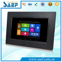 "lcd wall hanging advertising machine Android 4.4 Operating System and 7"" Screen Size 7"" tablet pc"