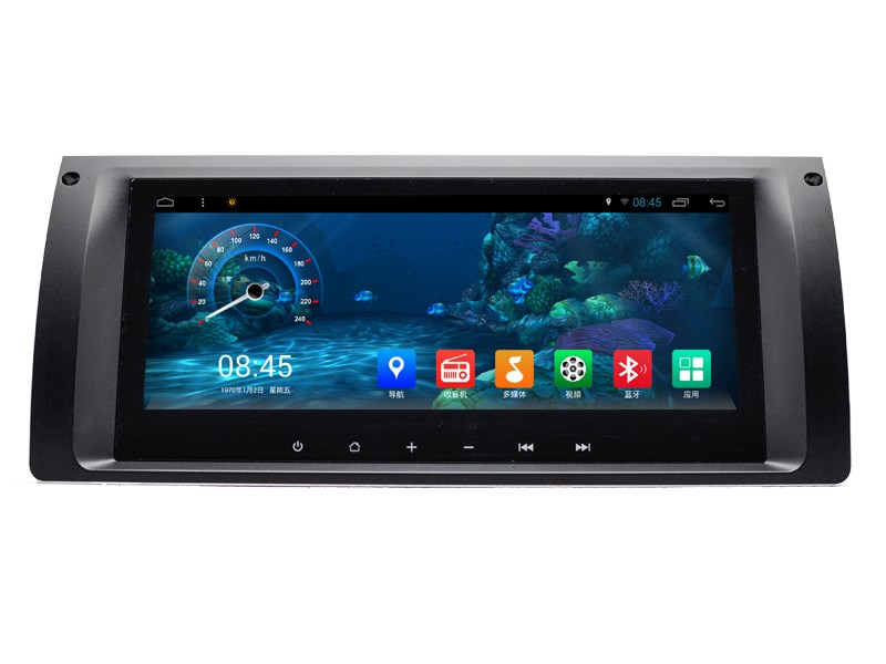 pen-hui 8.8'' Android 6.0 Auto radio gps navigation support gps/3g/wifi mirror-link for X5 E39/E53 built in map