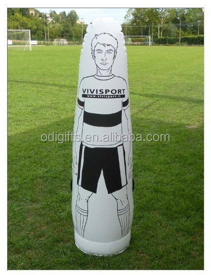inflatable body dummy for football and soccer training