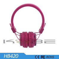 Wholesale high quality headphone Cheap Colorful FM Sport mp3 player wireless headphone
