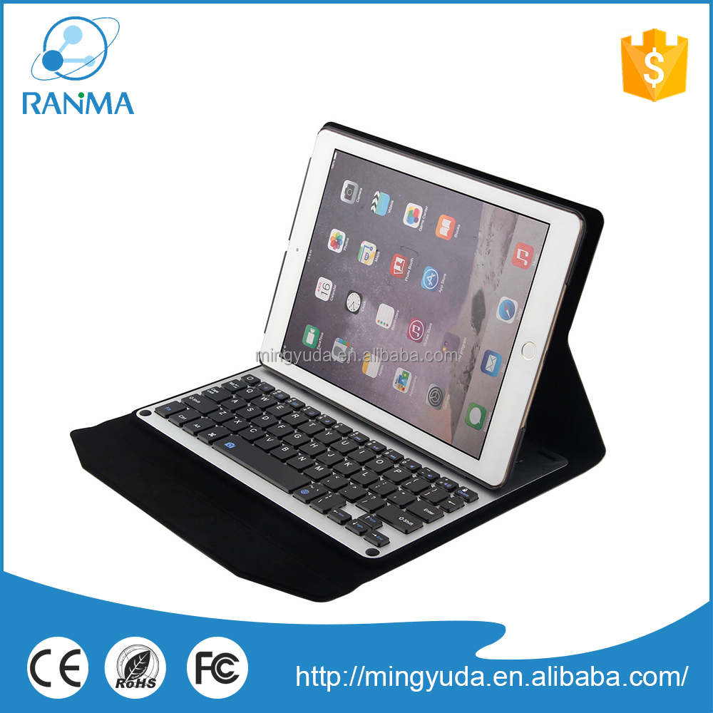 Detachable Flip Stand cheap price bluetooth vertical keyboard case for ipad air