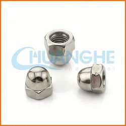 best factory price white cap nuts