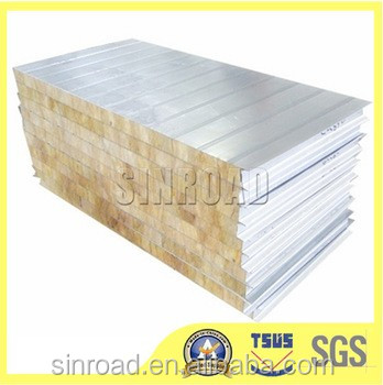 Low price mineral wool board insulation with metal coating for Mineral wool board insulation price
