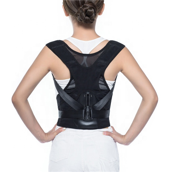 Amazon Hot Selling <strong>3</strong> File Level Adjustments Back Posture Corrector for Women and Men Lower Back Clavicle Support <strong>Belt</strong>
