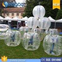 Amazing Sports Toy TPU human inflatable bumper bubble ball