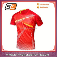 Stan Caleb china export clothes high quality friendly new 2017 tennis wear for men