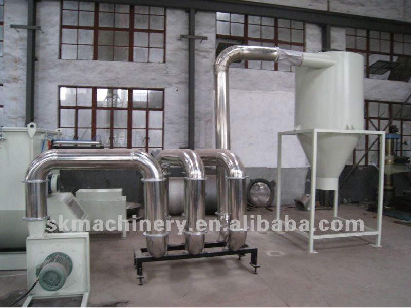PP/PE Waste Plastic Film Crushing Washing and Drying Recycling Machine