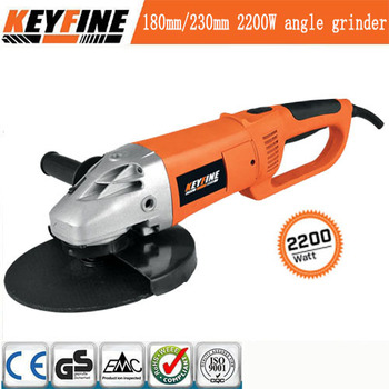 MANUFACTUTR ELECTRICITY POWER SOURCE HIGH QUALITY TOOLS TYPE FOR ANGLE GRINDER 230MM /9'' 2200W MACHINE