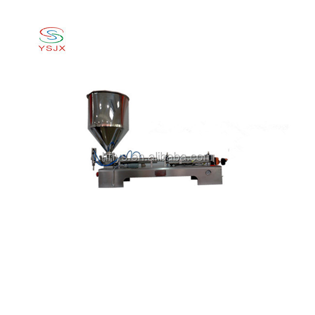 factory price volumetric thick paste filling machine for syrup honey