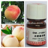 Juice peach flavor in beverage, fruit juice flavoring