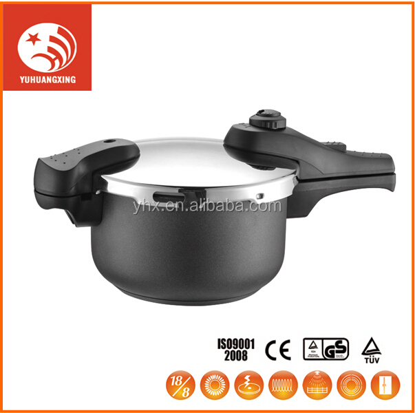 gas induction pressure cooker stainless steel cookware