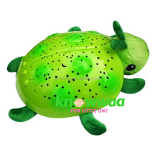 Green Ladybug Constellation Baby Night Light and Sound Projector