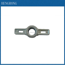 hot dipped galvanized scaffolding base jack nut wing nut